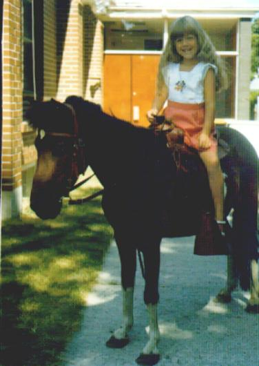 me on a horse 1983